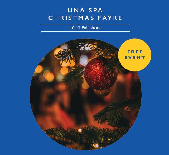 Una spa Christmas fayre