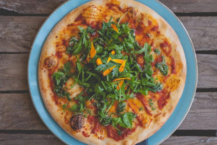 UNA Kitchen pizza